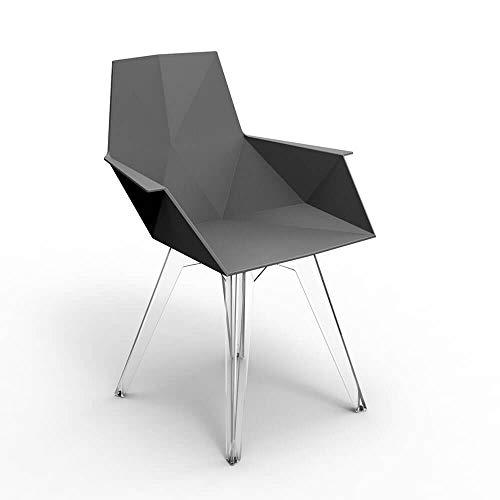Vondom Faz petit fauteuil pour l'extérieur noir
