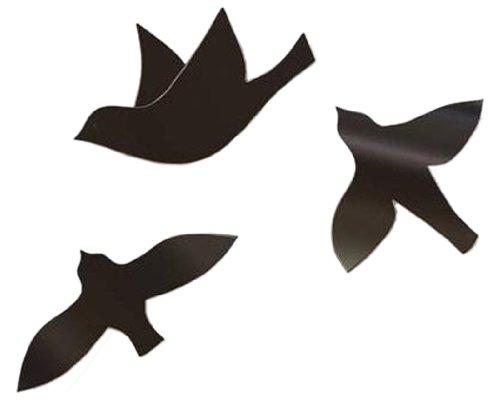 umbra ウォールデコレーション WALL BIRD WALL DECOR(ウォールバード 3P) ブラック 2470105‐040