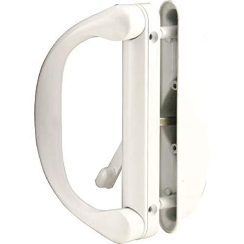 Sliding Patio Door Handle Set for Milgard, White