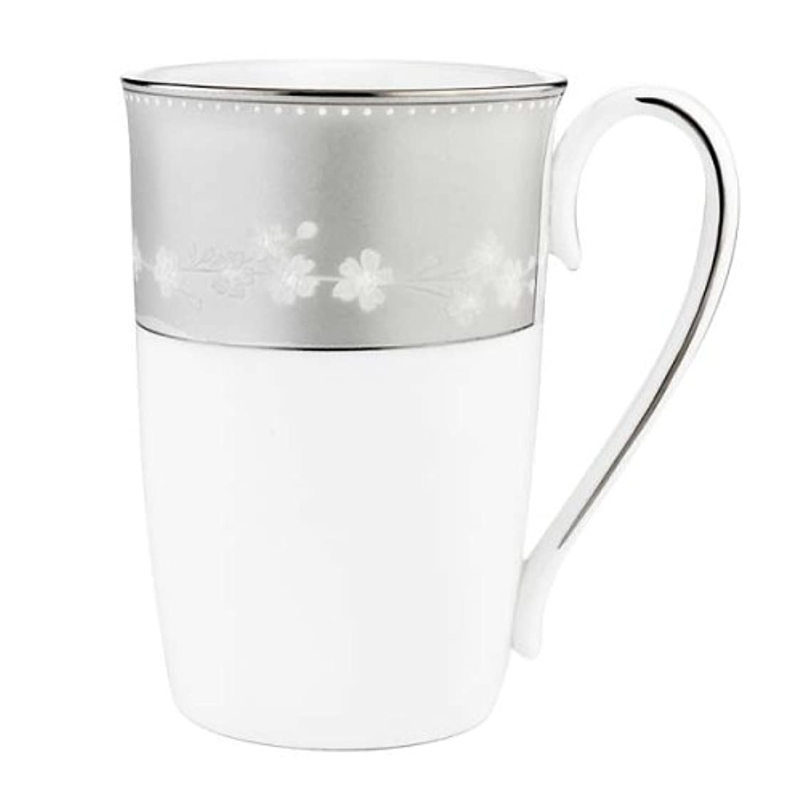 製造業ガイド出血Lenox China Bellina-Platinum Trim Accent Mug