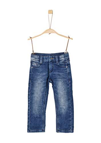 s.Oliver Junior Jungen 74.899.71.0513_JE Jeans, Blue Denim Stretch 56Z5, 116/Reg