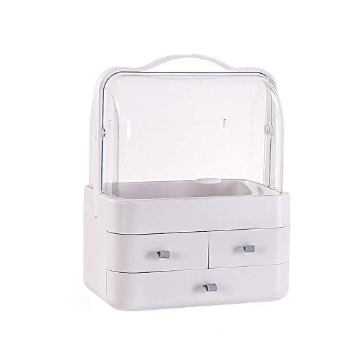 WYBFZTT-188 Storage Box-Makeup Organizer, Modern Cosmetic Organizer Makeup Storage Holder, Display Make Up Caddy Shelf Organization Boxes Case Dustproof