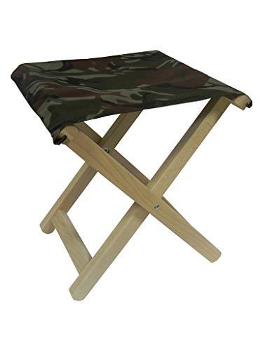 Camping of Visstoel Massief Houten en Polyester Beuken Hout Toeristische stoelen