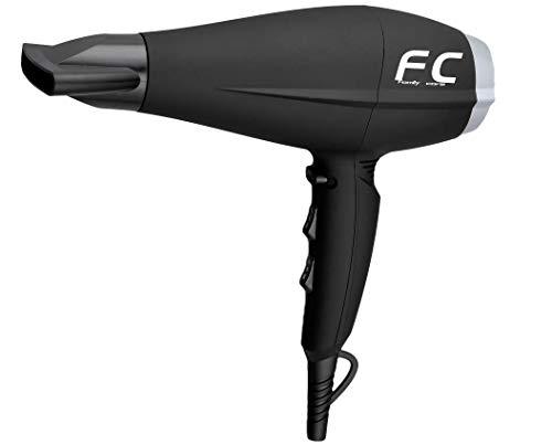 Family Care Secador de pelo con difusor, 3 temperaturas, 2 velocidades, botón de aire frío, 2200 W, color negro