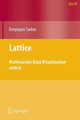 Lattice: Multivariate Data Visualization with R (Use R!)
