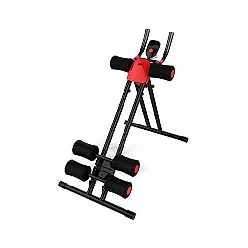 PWV Fitness Core & Abdominal Trainers AB máquina de entrenamiento en casa gimnasio entrenamiento de fuerza Ab Cruncher equipo de fitness plegable