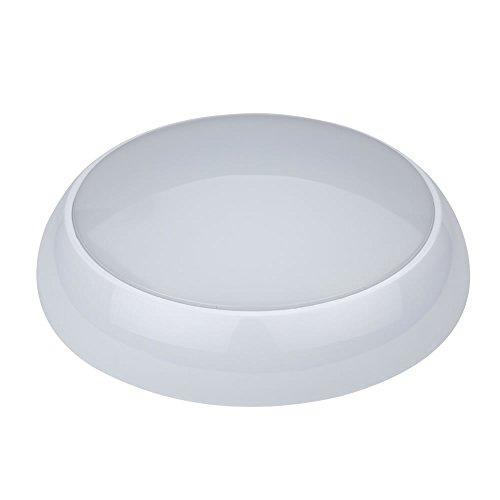 Biard Lampada Rotonda di Emergenza a LED 18W per Le modalità Mantenuta e Non Mantenuta Magazzino Garage Esterni Spazio Industriale o Commerciale con Batteria di Emergenza Durata 3 Ore