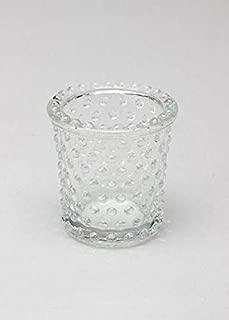 Floral Home Heirloom Hobnail Glass Votive Candle Holder - 3