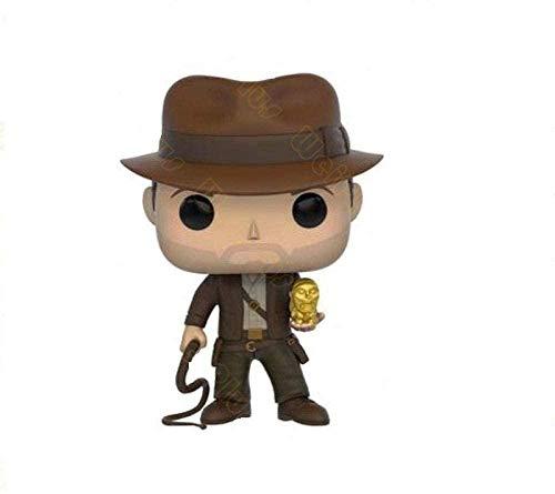 cheaakk Funko Pop # 199 Indiana Jones Figurines de Vinilo BRINQUEDOS Colección Modelo Juguetes para niños Regalo, Hermosa colección de Decoraciones.