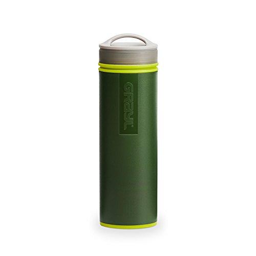 GRAYL Ultraligero Botella de Filtro purificador de Agua [+] - COMIN18JU054105, Verde