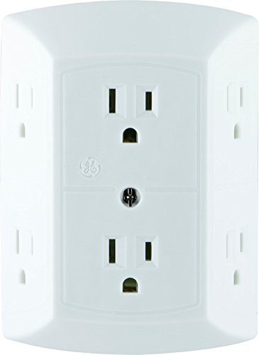 GE 6 Electric Multi-Plug Outlet