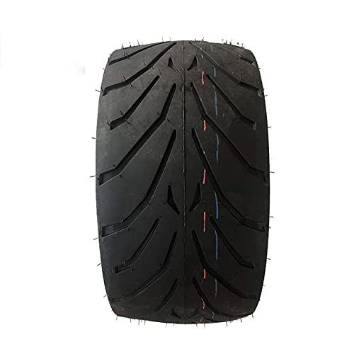 JAJU Neumáticos de Scooter eléctrico, neumáticos sin cámara Antideslizantes 205/40-14, Resistentes al Desgaste, adecuados para Piezas de modificación de neumáticos de Motocicleta Kart/ATV/Harley