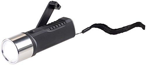 Lunartec Taschenlampe Kurbel: Dynamo-LED-Taschenlampe, 80 Lumen, 1 Watt, auch per USB ladbar (Kurbellampen)