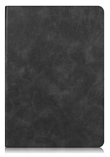 XXY Accesorios de pestañas para Huawei MediApad M5 Lite 10, Protector de Carcasa de Lujo Fase de Moda para Huawei MediApad M5 Lite 10 BAH2-W09 BAH2-W19 BAH2-L09 10.1' (Color : Black)