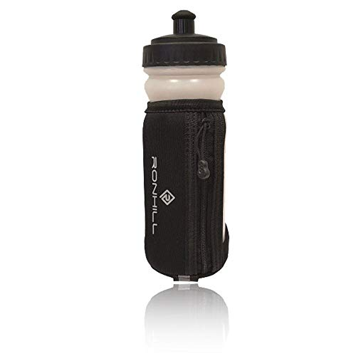 Ronhill Grip Bottle R904 Clear/Black, O/S
