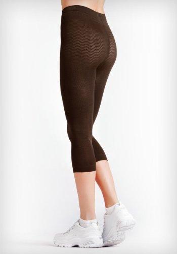 Solidea Silver Wave Pantaloni stile corsaro marrone Moka. M/L