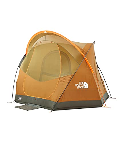 The North Face Homestead Super Dome 4, Light Exuberance Brown Orange/Timber Tan/New Taupe Green, OS
