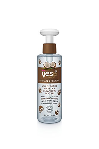 Yes to Coconut Ultra Hydrating Micellar Cleansing Water, 7.77 Fluid Ounce