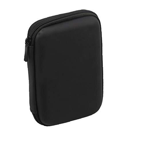 Mini USB 3.0 / USB 2.0 de 1 TB de disco duro móvil externo 301558 compacto de disco duro portátil Case-Negro