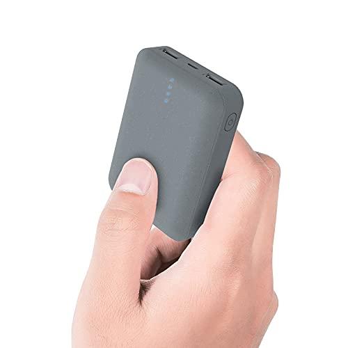 ockered Power Bank, 10000mAh Batería Externa, Cargador Portátil de Gran Capacidad con Pantalla LCD Digital y 2 Puertos de Salida 2.4A Carga Rapida para Moviles Android & iOS, Tabletas y Más, Negro