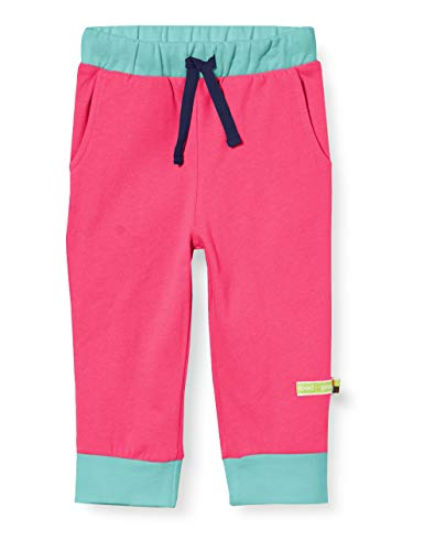 Loud + Proud Soft Pant Organic Cotton Pantalon De Sport, Rose (Azalea Aza), 86/92 Bébé Fille