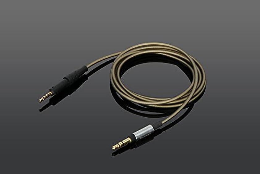 関係ないダブルペインティングYodonami 交換ヘッドホンケーブル HD6 MIX, HD7, HD8 DJに対応 銀メッキケーブル 3.5mmコネクタ (グレイ)