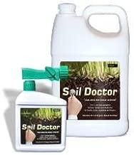 Outsidepride LazyMan Soil Doctor Liquid Lawn Fertilizer, Aerator, Dethatcher, Soil Conditioner - Gallon