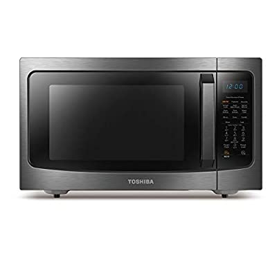 Toshiba ML-EC42P(BS) microwave oven, Black Stainless Steel