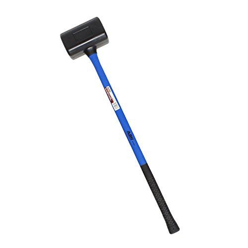 ABN 10 lb pound Rubber Mallet Hammer, 35in, Dead Blow Mallet Woodworking Mallet Rubber Hammer Automotive Hammer