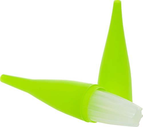 AO Cachimba Ice Bazooka 2.0 | Narguilé Boquilla Enfriador con Bolsa de Hielo | A atornillar | La Pieza Bocal refrigera el Humo de la Shisha (Amarillo fosforito)