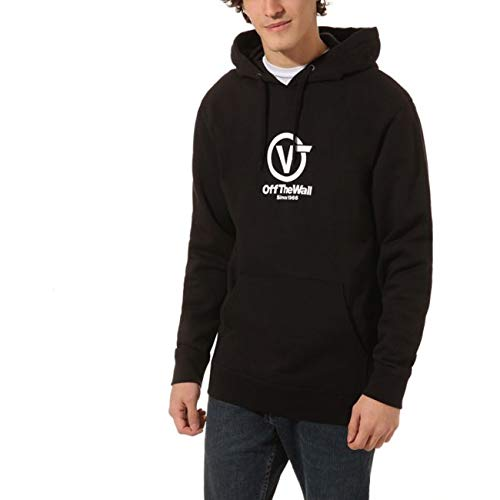 Vans Hoody Distorteerde Performance Black