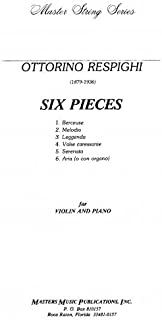 6 Pieces for Violin and Piano - Set of Parts