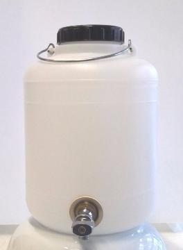 PLASTICOS HELGUEFER - Bidon 10 litros con Grifo Metálico
