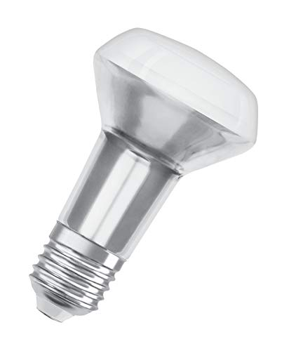 OSRAM LED Star R63, Sockel: E27, Nicht Dimmbar, KaltweißErsetzt eine herkömmliche 40 Watt Lampe, 36 Grad Abstrahlwinkel, 6er-Pack