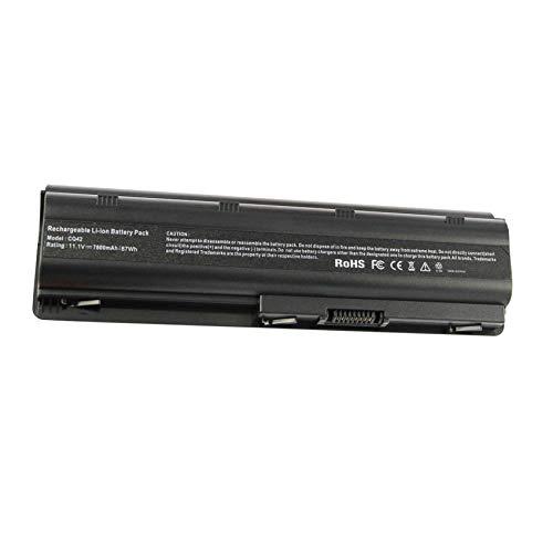 ASUNCELL 7800mAh batería para portátil de 9 Celdas para HP Presario CQ32 CQ42 CQ62 CQ72 CQ43 HP Pavilion DM4-1000 DM4-3000 DV5-2000 DV6-3000 DV6-6000 DV7-4000 MU06 MU09 593553-001 593554-001 HP G42
