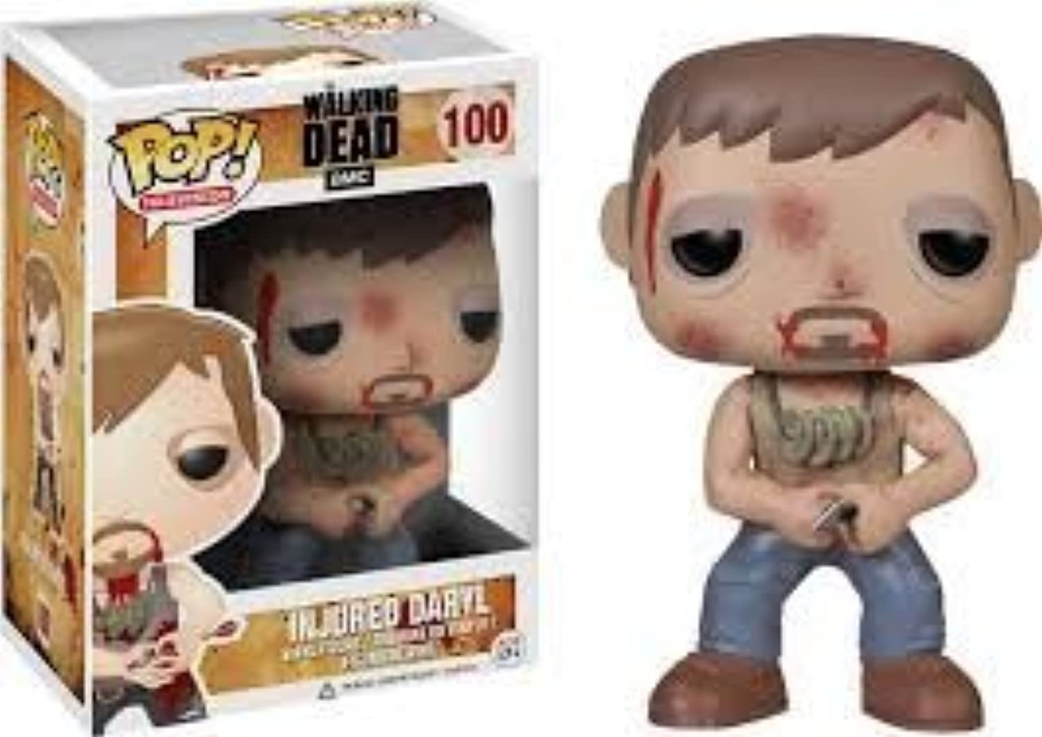 New the Walking Dead Injurot Daryl Dixon Pop  Vinyl Figure Toy Action by Funko