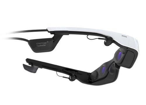 cinemizer OLED 3D-Videobrille ZEISS inklussive HDMI Adapter und Head Tracker
