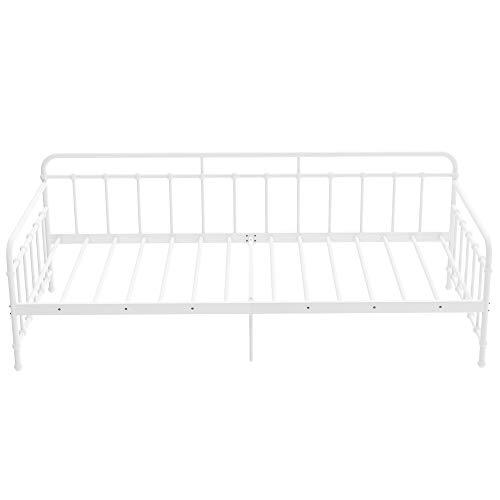 WYLZLIY-Home Bed Frame Metal Bed Frame With Slatted Frame Daybed For Adults Children Kids