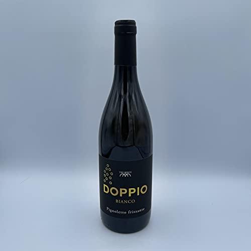 Tre Monti Doppio Bianco Pignoletto Frizzante DOC Vino Biologico 2019 11,5% vol 750ml