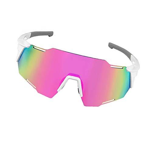 Gafas De Ciclismo Polarizadas Que Cambian De Color,Gafas De Sol Deportivas Para Bicicleta De Carretera Y Bicicleta De Montaña,El Ancho De La Montura Y Las Almohadillas Nasales Son Ajustables,B