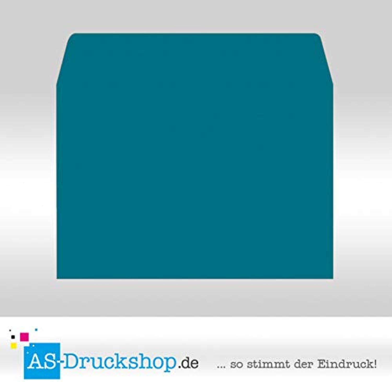 Briefumschlag KuGrün - Petrol - mit Seidenfutter DIN C4   50 Stück B0794X11GN | Maßstab ist der Grundstein, Qualität ist Säulenbalken, Preis ist Leiter