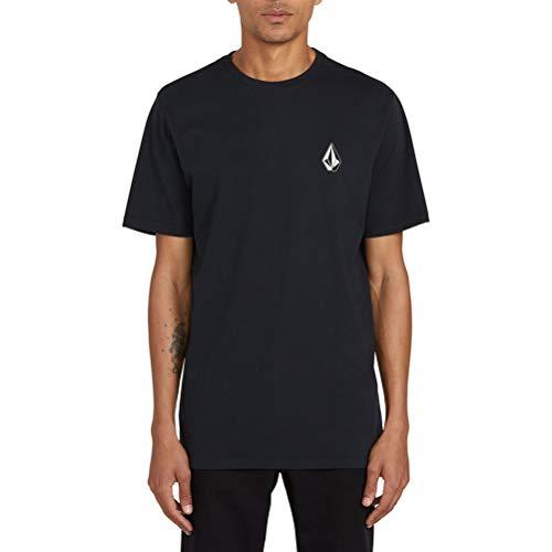 Volcom Men's Deadly Stone Modern Fit Short Sleeve Tee black Large