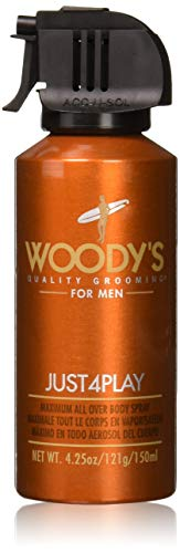 Woody's Woody?s just4play maximum all over body spray 150ml