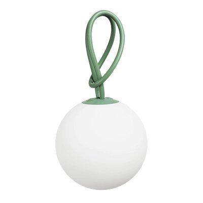 Fatboy® Bolleke Industrial Green | Hängelampe für Innen & Außen | ohne Kabel | aufladbar mit USB