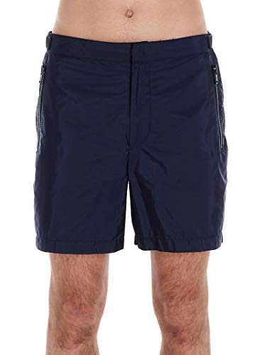 Prada Luxury Fashion Herren UB358S201Q04F0124 Blau Polyester Badeboxer | Frühling Sommer 20