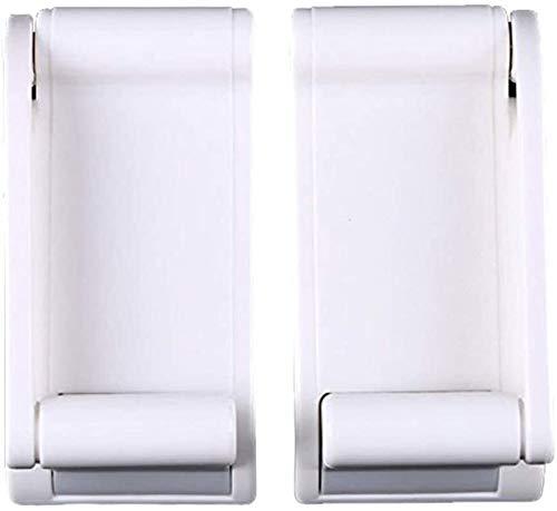 DFVV Tenedor de Papel higiénico Titular de Papel for el hogar Cocina de Almacenamiento Toalla de Inodoro Estante Easy Instale Dispenser Baño Ajustable Rollo magnético Tenedor de Papel de baño