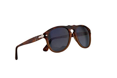 Persol PO0649S zonnebril Resina E Verkoop w/gepolariseerd blauw verloop Lens 52mm 1025S3 PO0649 PO 0649 PO0649-S 649S 649-S PO 649