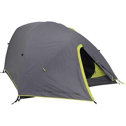 ALPS Mountaineering Greycliff 3 Tent: 3-Person 3-Season (Grey/Citrus)