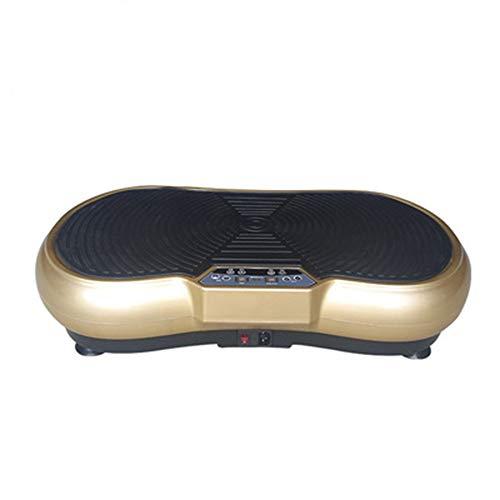 VRQG Plateforme Vibrante, Machine pour Perte De Poids dans La Maison, Surface AntidéRapante,Affichage LCD avec TéLéCommande,Anti-Cellulite,IdéAl pour Fitness Et Musculation