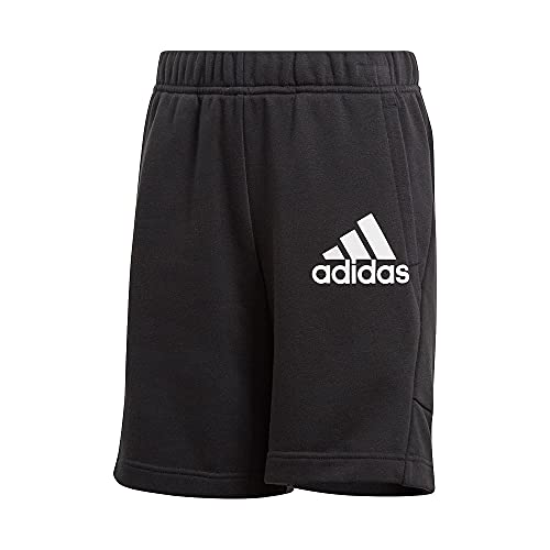 adidas B BOS Short Pantalones Cortos, Black/White, 13 años para Niños
